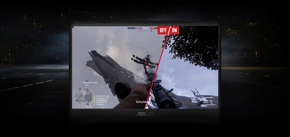 ASUS TUF GAMING FX505 – FREESYNC