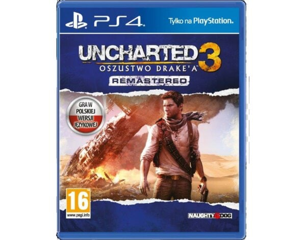 Gra PS4 Uncharted 3: Oszustwo Drake'a Remastered