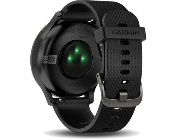 smartwatch garmin vivomove hr sport czarny czarny pasek. Black Bedroom Furniture Sets. Home Design Ideas