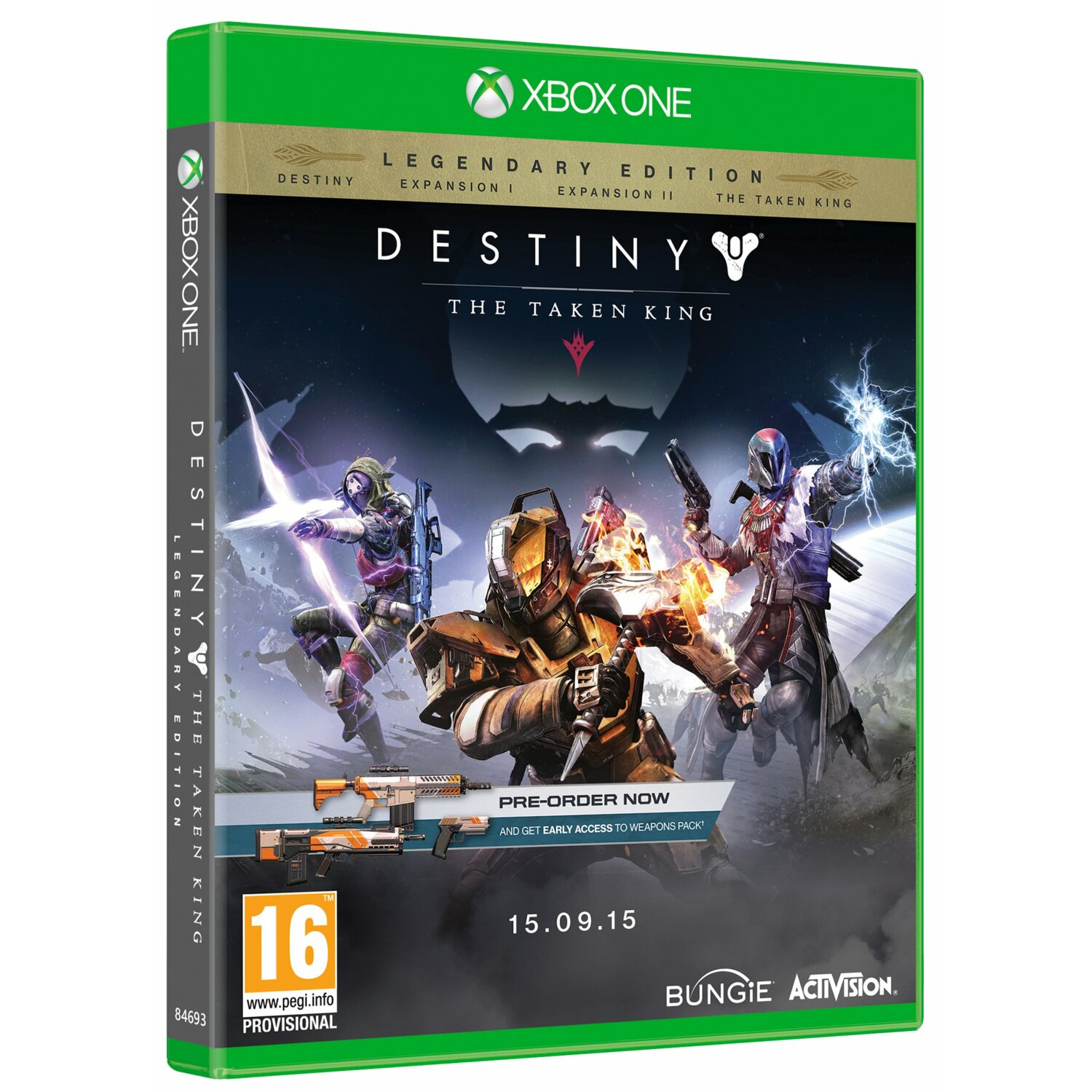 Gra Xbox One Destiny The Taken King Legendary Edition