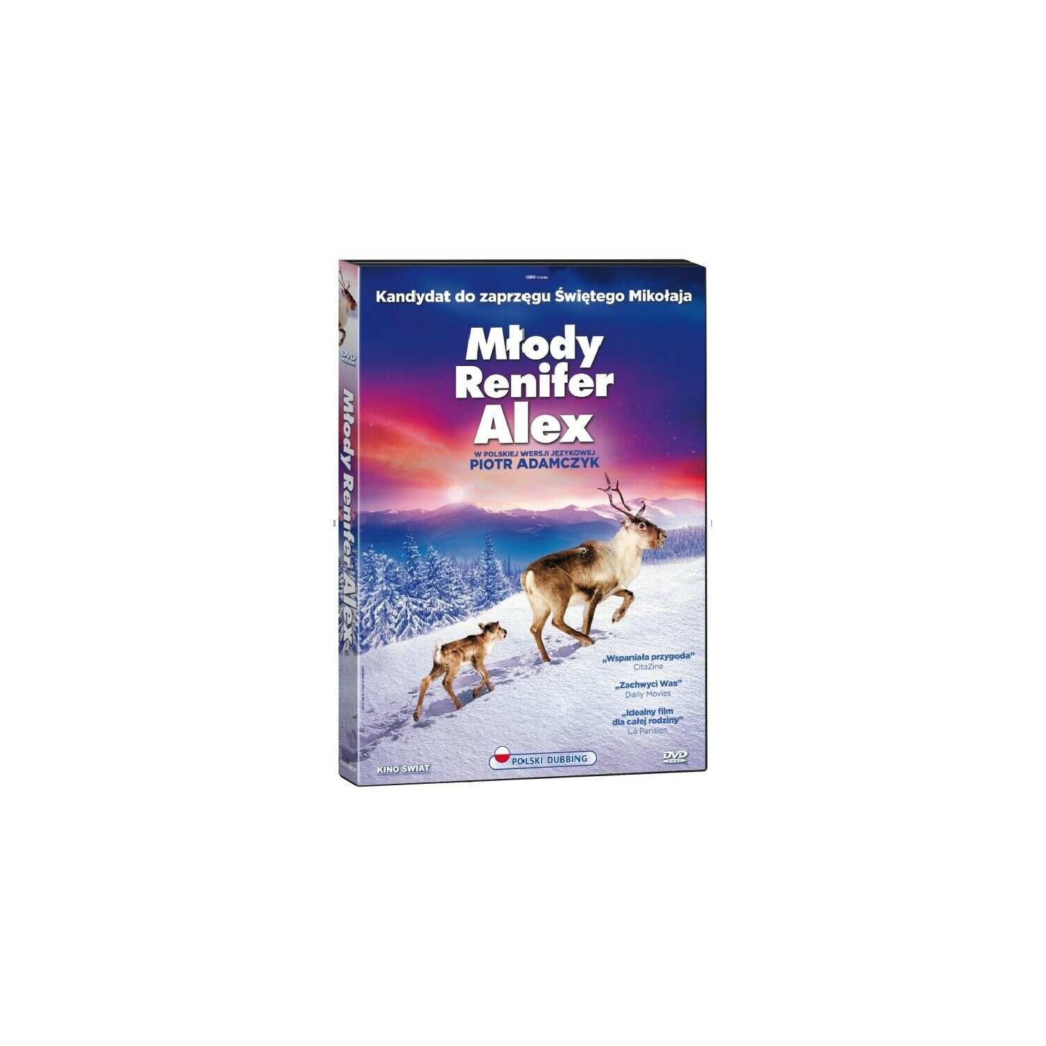 Młody renifer Alex (DVD)