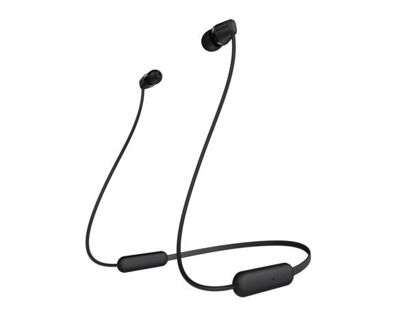 Słuchawki bezprzewodowe SONY WI C200 Czarny