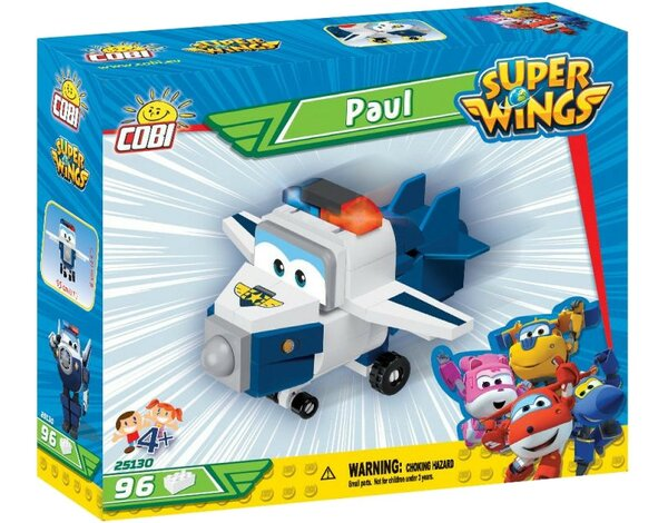 Klocki COBI Super Wings - Paul (25130)