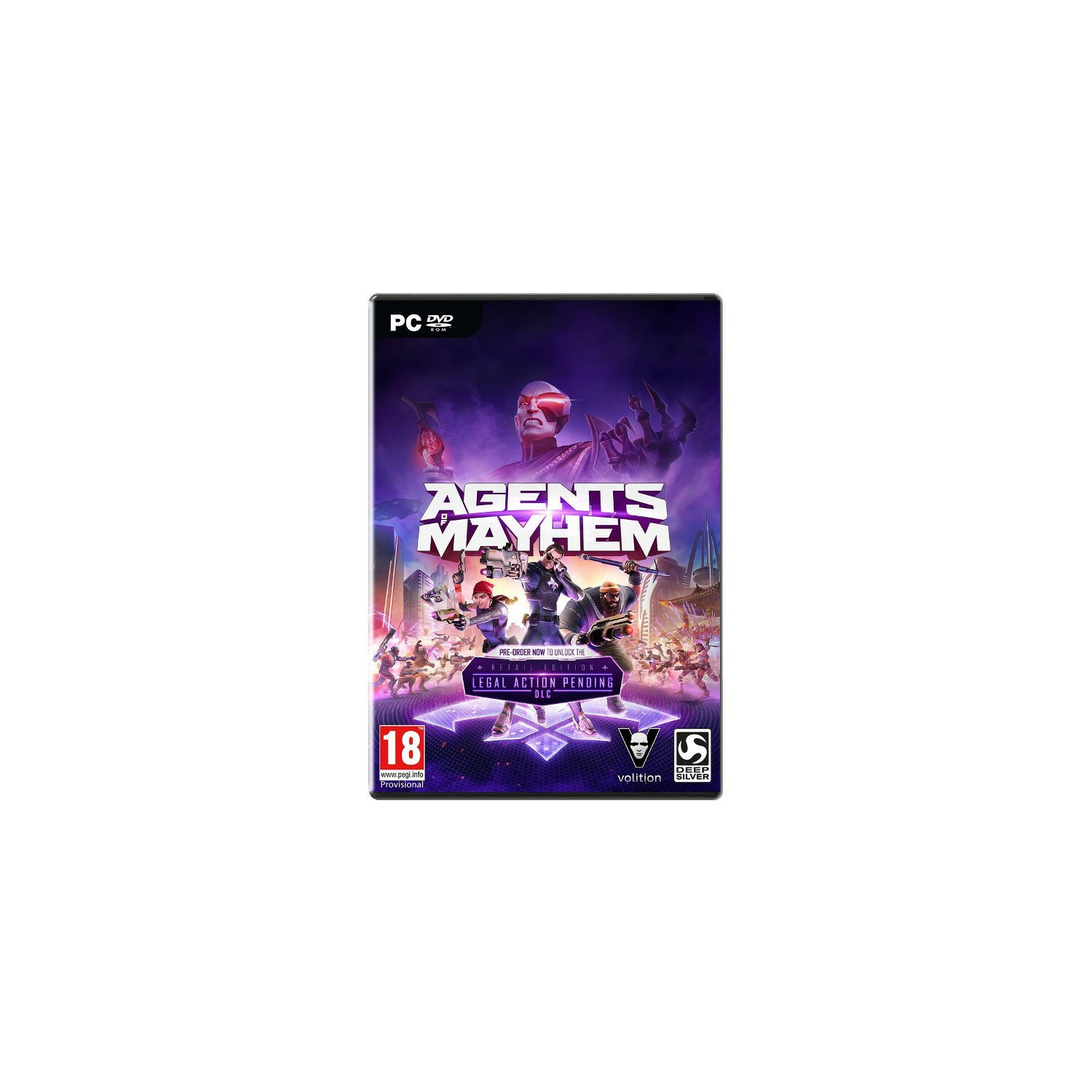 Gra PC Agents of Mayhem