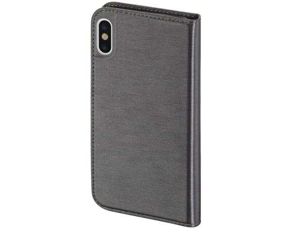 Etui HAMA Slim Booklet do smartfona Apple iPhone X Szary