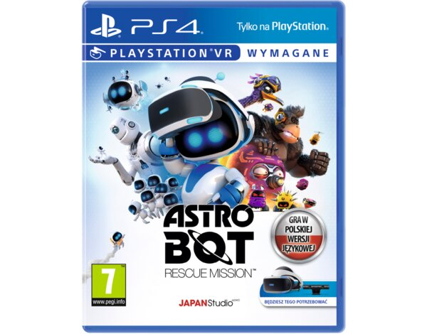 Gra PS4 VR Astro Bot: Rescue Mission