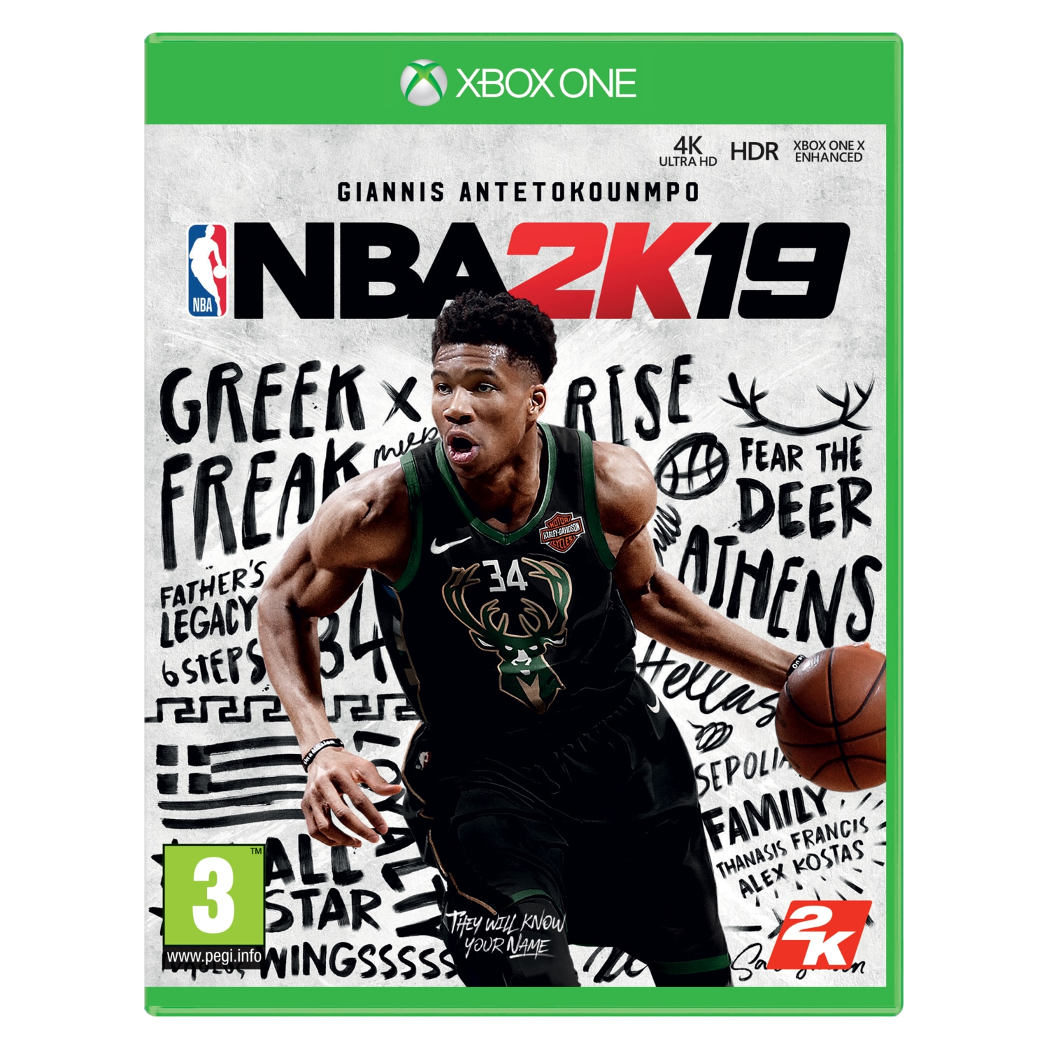 Gra Xbox One NBA 2K19