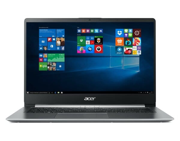 Laptop ACER Swift 1 SF114-32-P90V NX.GXUEP.015 Pentium N5000/4GB/128GB SSD/INT/Win10S Srebrny