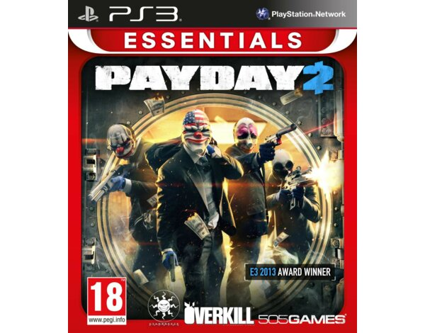 Gra PS3 PayDay 2 Essentials