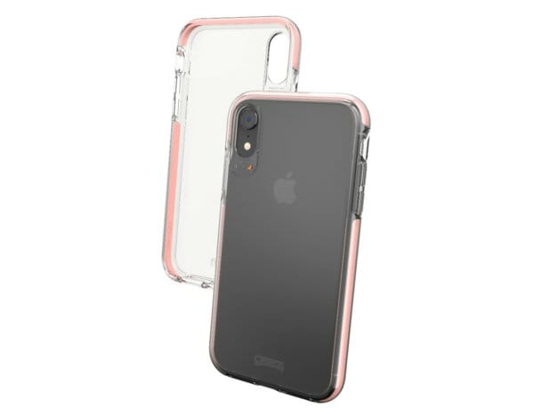 Etui na smartfon GEAR4 Piccadilly do Apple iPhone XR Różowe złoto 32995