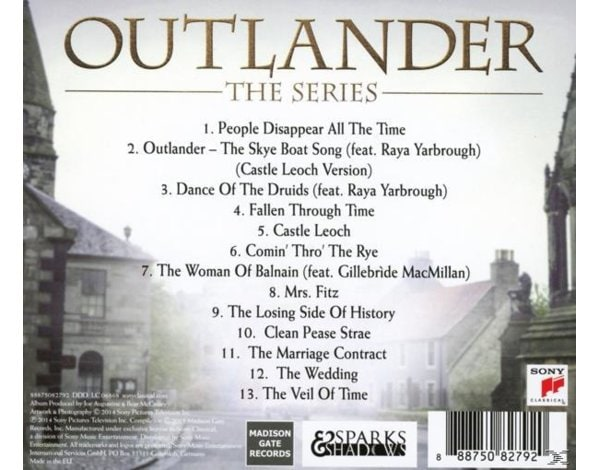 OUTLANDER: SEASON 1, VOL. 1 (O
