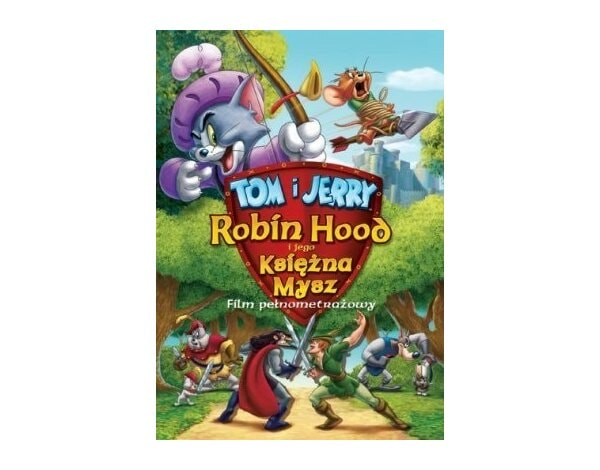 Film GALAPAGOS Tom i Jerry, Robin Hood i jego księżna mysz Tom & Jerry: Robin Hood and his Merry Mouse