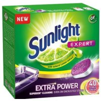 Tabletki do zmywarki SUNLIGHT Expert Extra Power Citrus Fresh 40 szt.