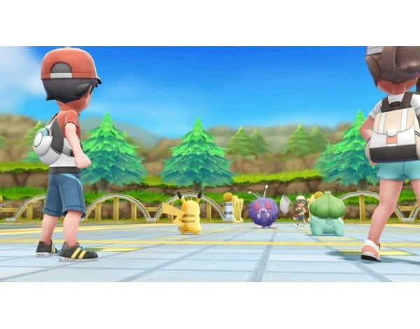 Gra Nintendo Switch Pokémon Let's Go Eevee! + PokéBall Plus