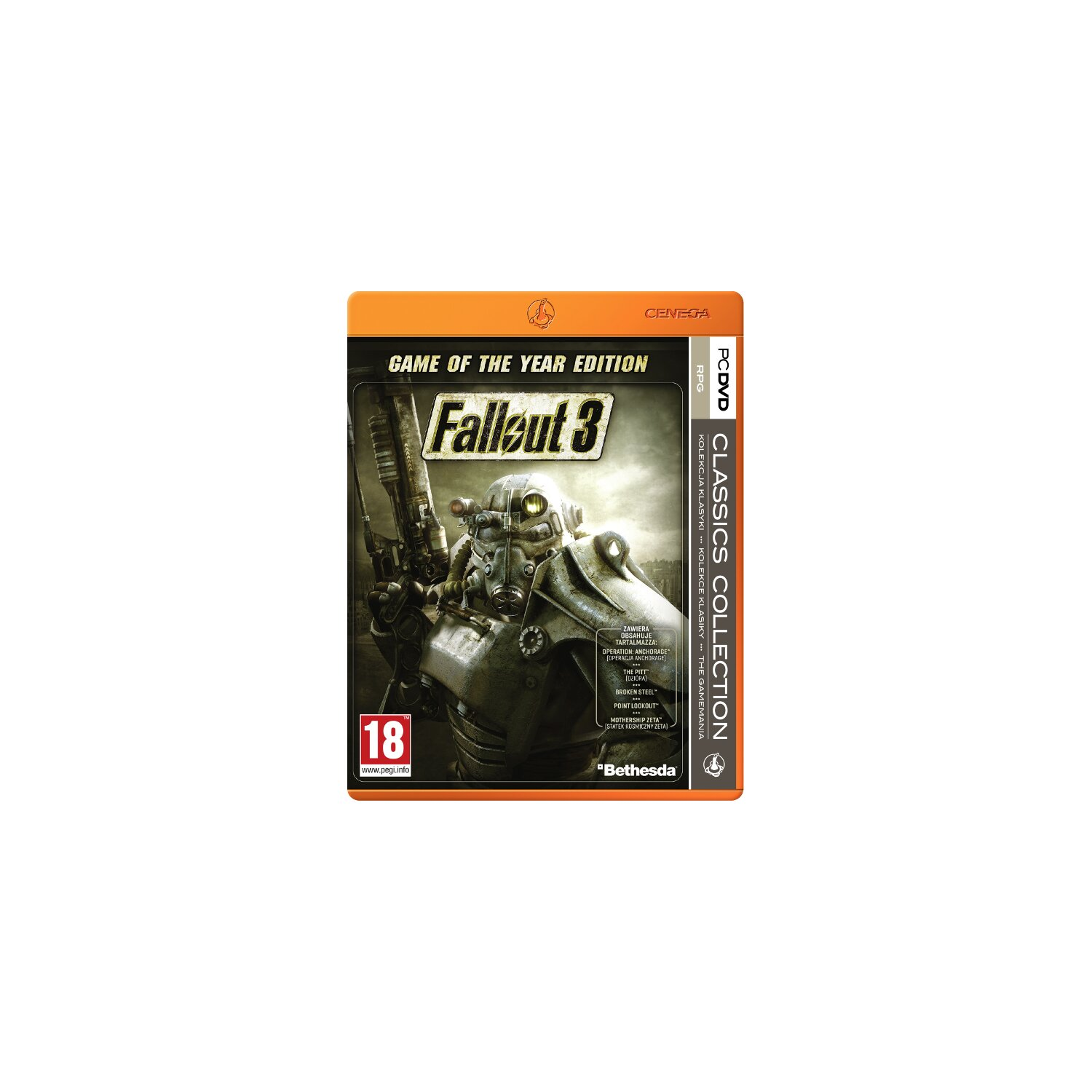 Gra PC PKK Fallout 3 Game Of The Year Edition