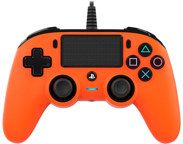 Kontroler BIG BEN Nacon Compact Controller Pomarańczowy do PS4