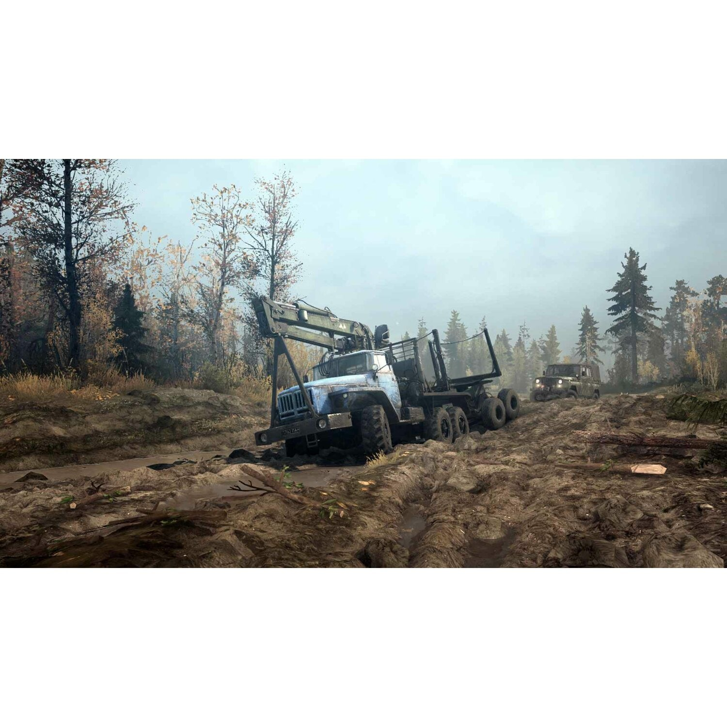 Gra PC Spintires: MudRunner