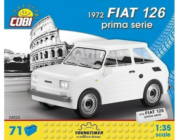 Klocki COBI Youngtimer collection - Fiat 126 1972 prima serie COBI-2524