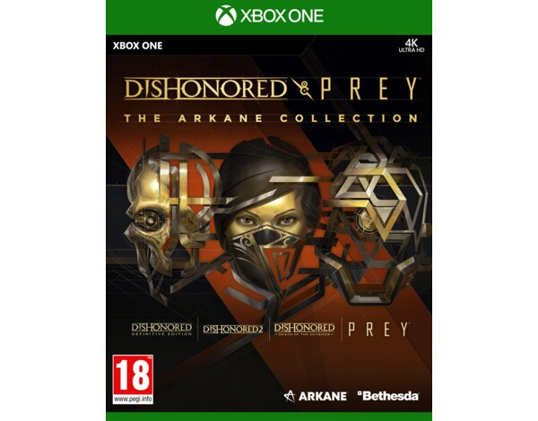 Gra Xbox One Dishonored & Prey The Arkane Collection