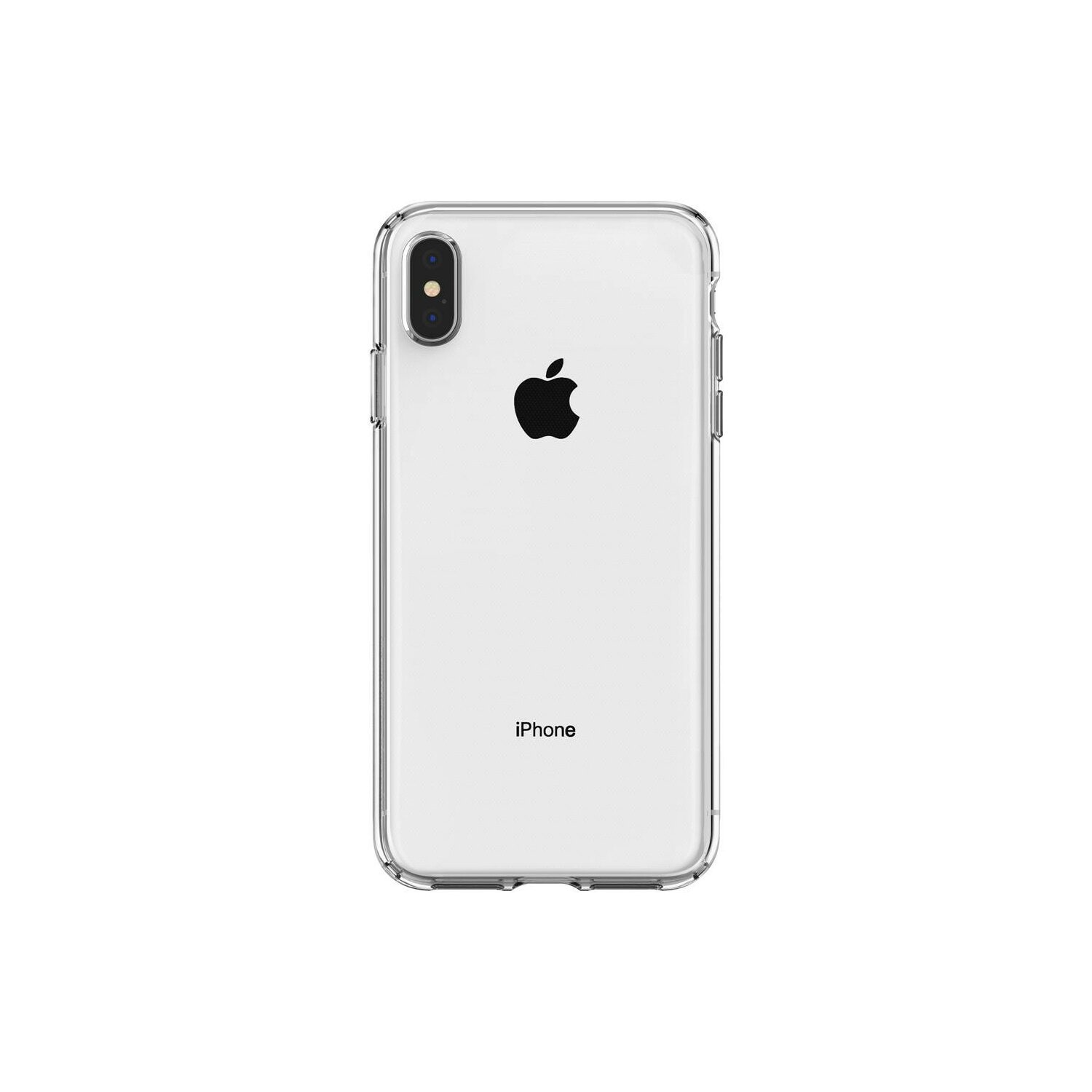 Etui SPIGEN Liquid Crystal do Apple iPhone XS Max Przezroczysty