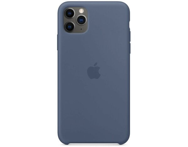 Silikonowe etui APPLE Silicone Case do iPhone 11 Pro Max Błękit Alaski MX032ZM/A