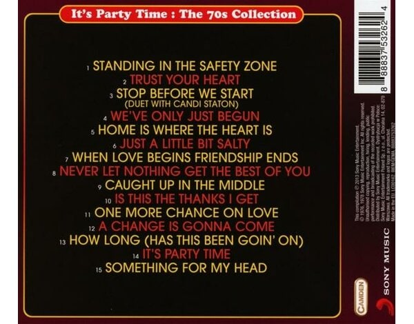 IT'S PARTY TIME : THE 70S COLL