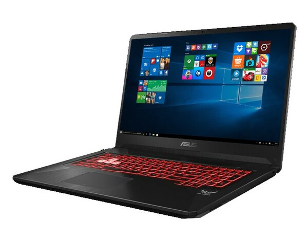 Laptop ASUS FX705GD-EW069T i5-8300H/8GB/1TB/GTX1050/Win10H Red Matter
