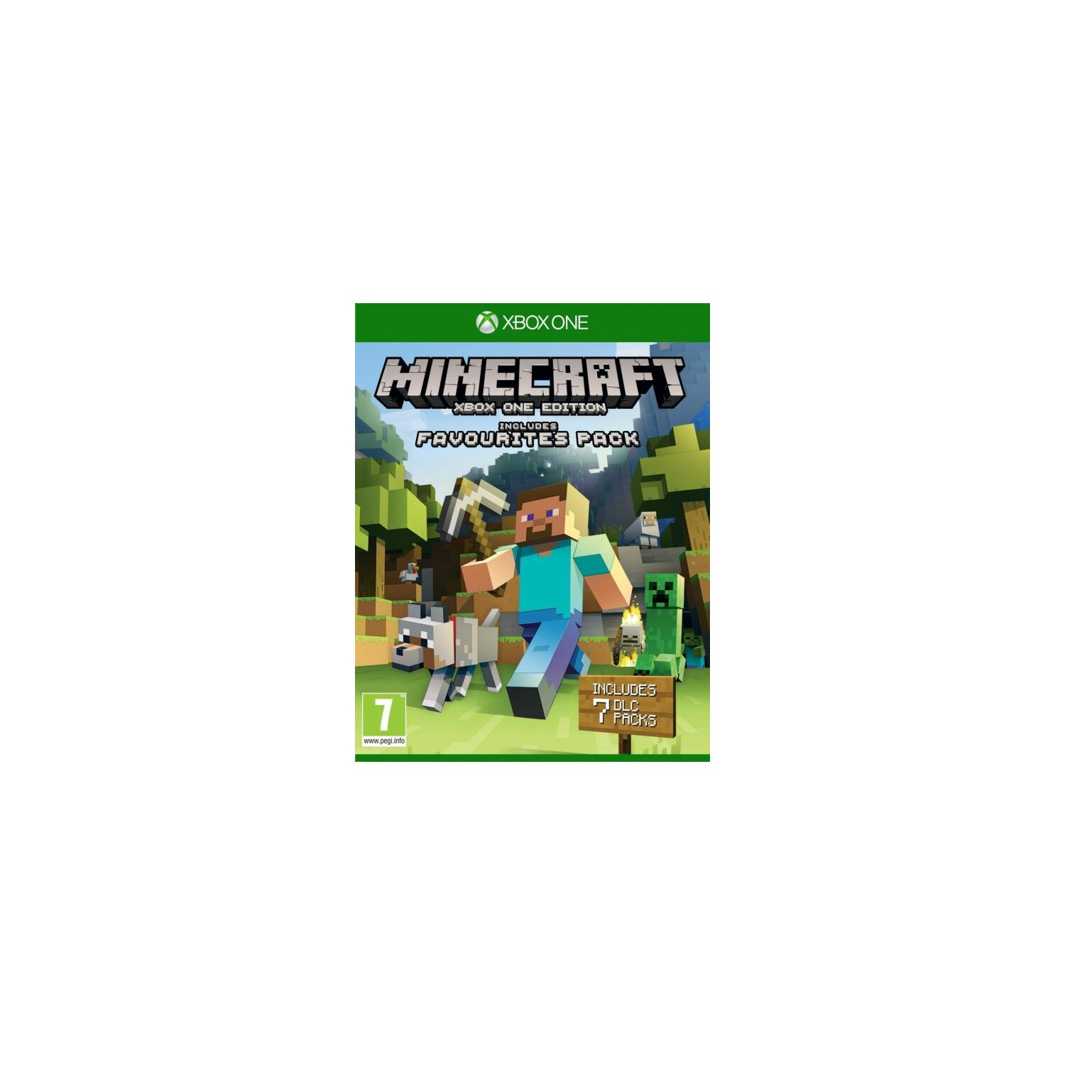 Gra Xbox One Minecraft: Xbox One Edition Favorites Pack
