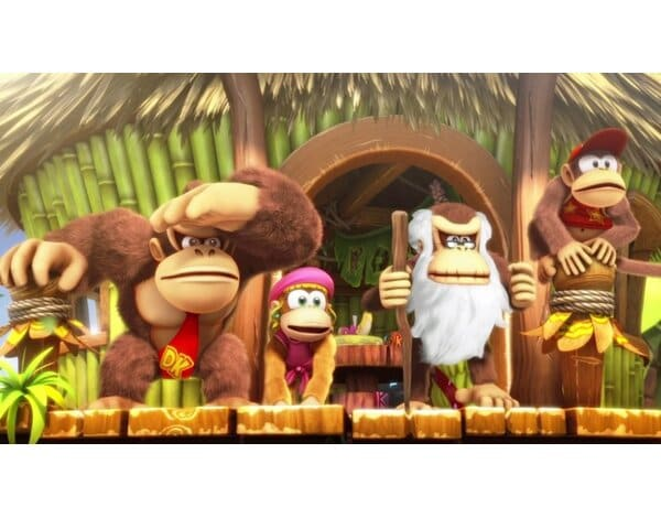 Gra Nintendo Switch Donkey Kong Country: Tropical Freeze Selects
