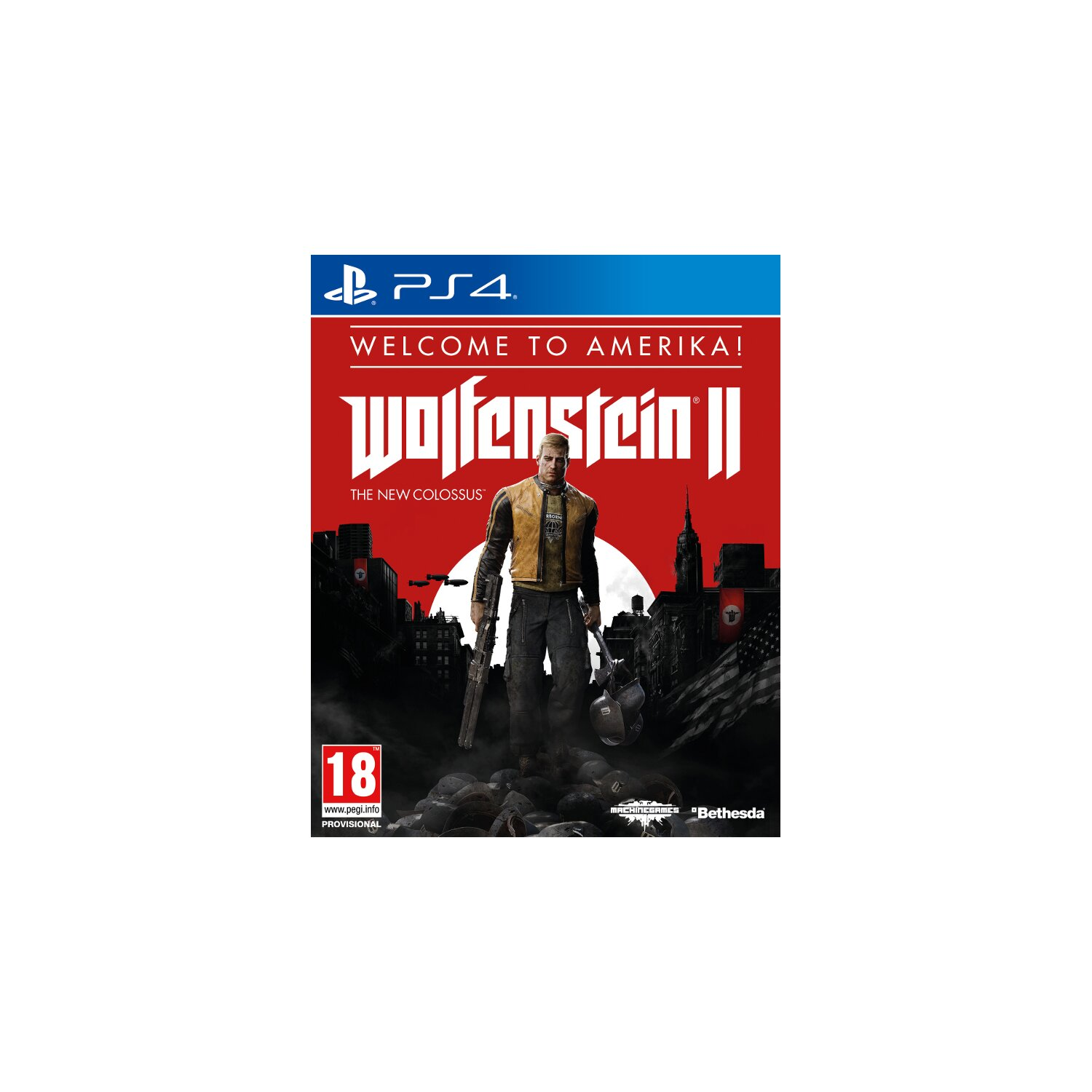 Gra PS4 Wolfenstein II The New Colossus Welcome to Amerika!