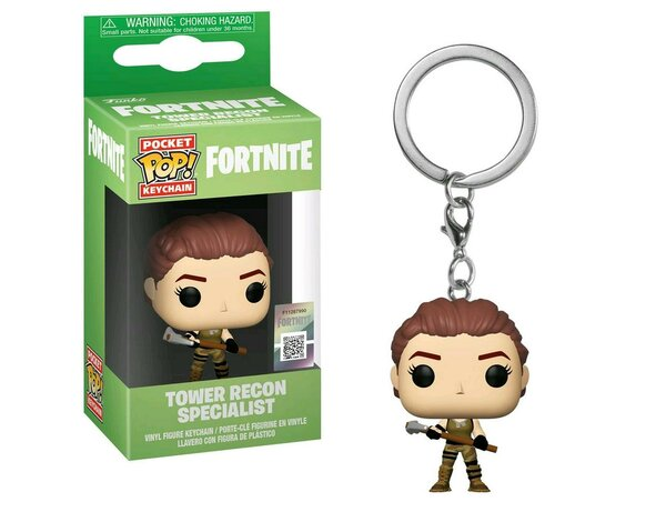 Figurka FUNKO Pop Keychain: Fortnite - Tower Recon Specialist