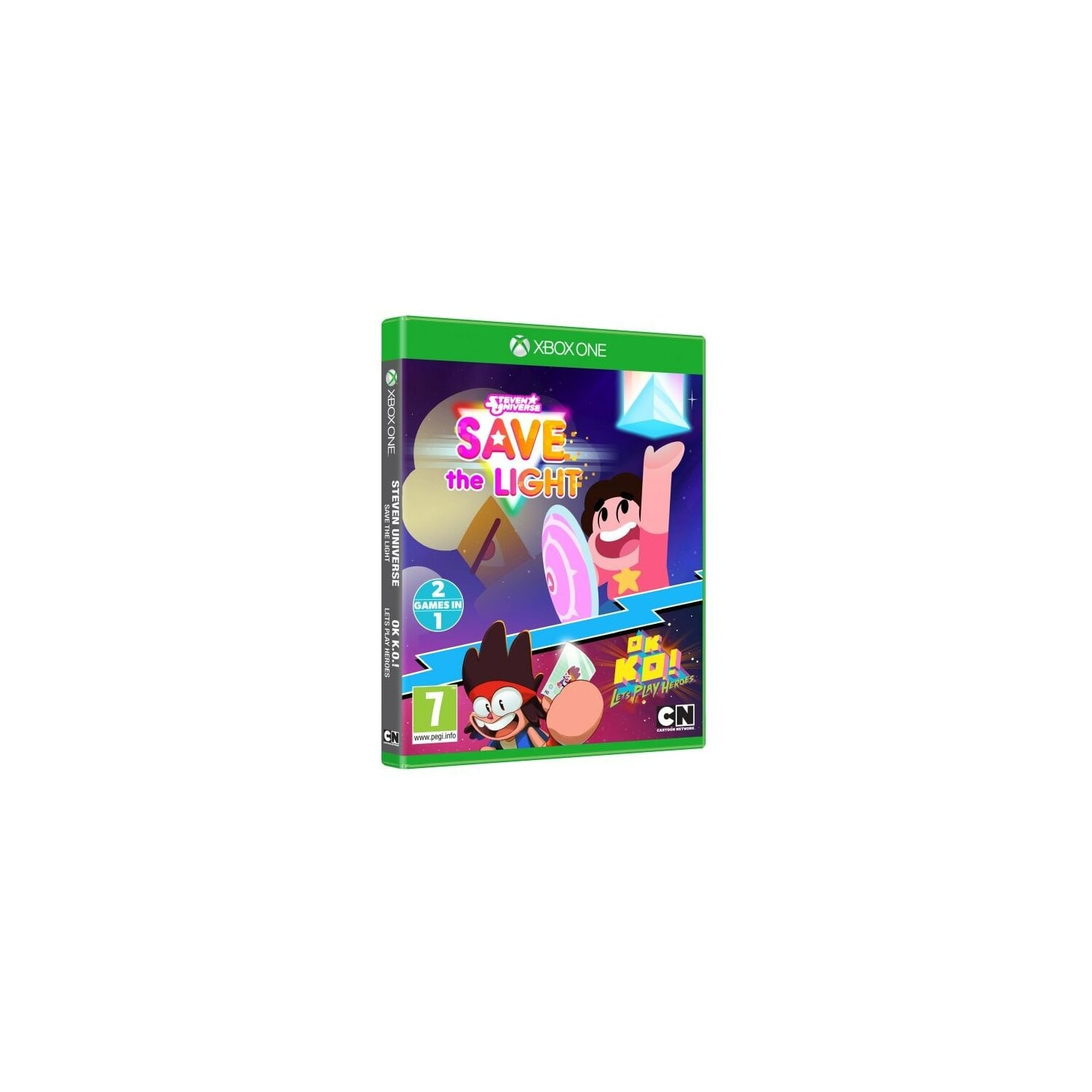 Gra Xbox One Steven Universe: Save The Light + OK K.O.! Let's Play Heroes