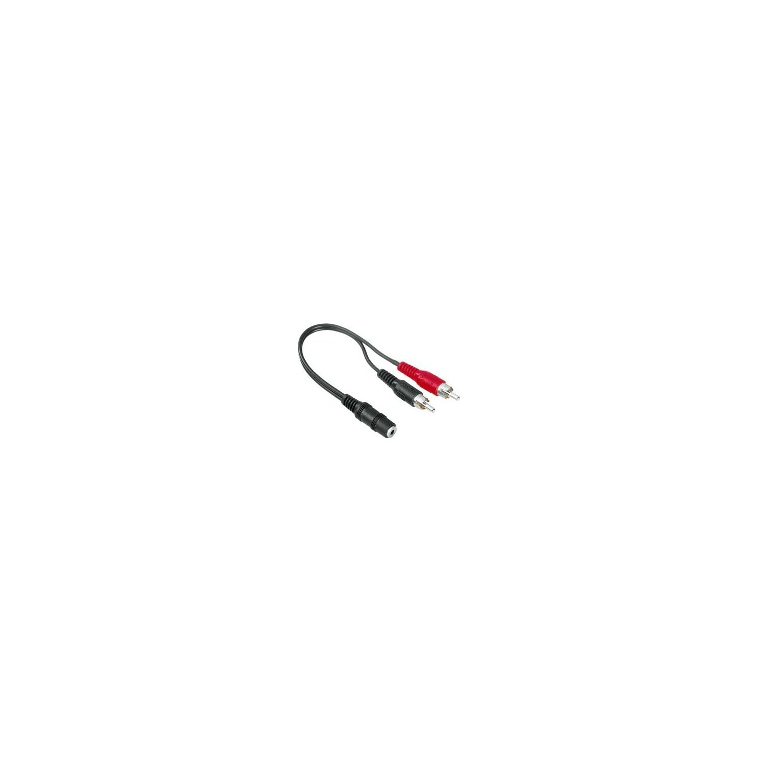 Kabel HAMA Kabel 2x CINCH WT - Jack 3.5 mm stereo GN