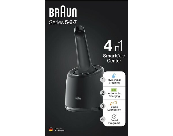 Stacja Clean&Charge BRAUN P 0-CC BLK BOX CEEMEA