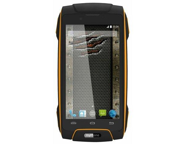 45c7a086926c Smartfon MYPHONE Hammer Axe LTE Pomarańczowy
