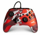 Kontroler POWERA Enhanced Wired Controller Camo Red do Xbox Series/Xbox One