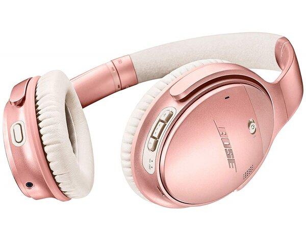 Słuchawki bezprzewodowe BOSE QuietComfort 35 II Różowe złoto