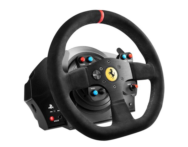 Kierownica THRUSTMASTER T300 Ferrari Integral Racing Wheel Alcantara-Edition do PS4/PS3/PC