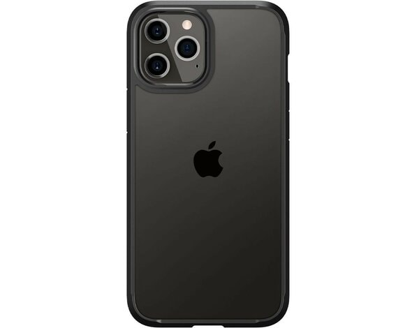 Etui SPIGEN Ultra Hybrid do Apple iPhone 12 Pro Max Czarny