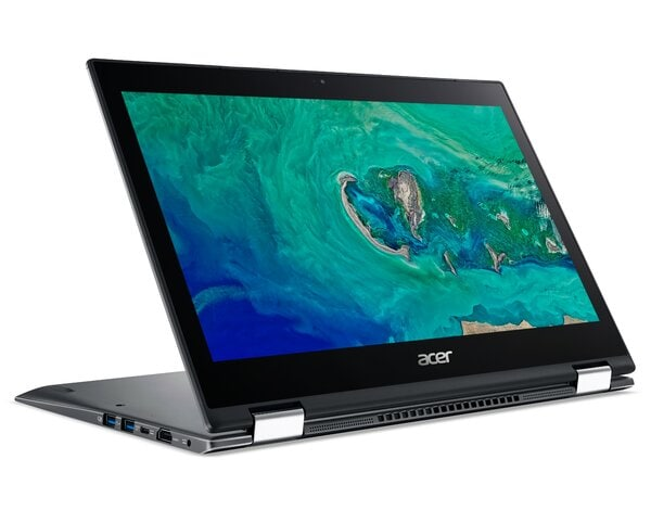Laptop ACER Spin 5 SP513-53N-5242 NX.H62EP.012 i5-8265U/8GB/256GB SSD/INT/Win10H Szary