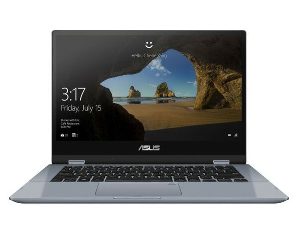 Laptop/Tablet 2w1 ASUS VivoBook Flip 14 TP412UA-EC039T i5-8250U/8GB/256GB SSD/INT/Win10H Galaxy Blue + rysik