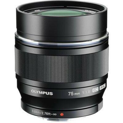 Obiektyw OLYMPUS M.Zuiko Digital ED 75 mm 1:1:8 Czarny Media Markt 1203666