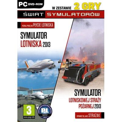 Gra PC Symulator Lotniska 2013 / Symulator Lotniskowej Straży Pożarnej 2013